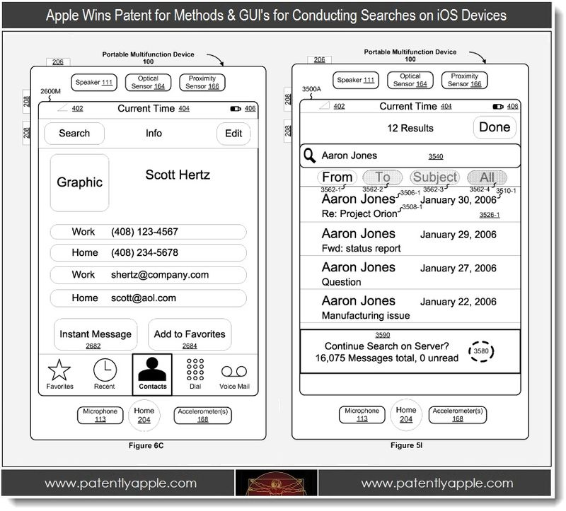 3. Apple, Methods & GUI's for conducting searches on iOS Devices