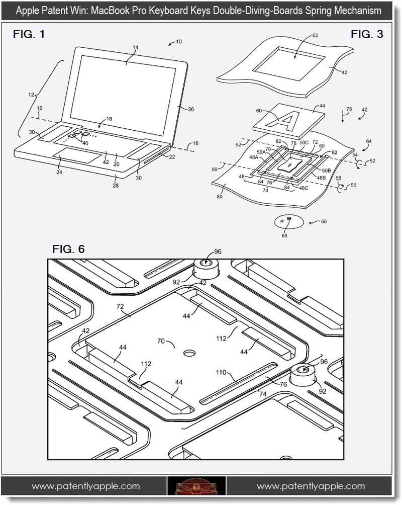 4. Macbook pro double diving boards spring mechanism