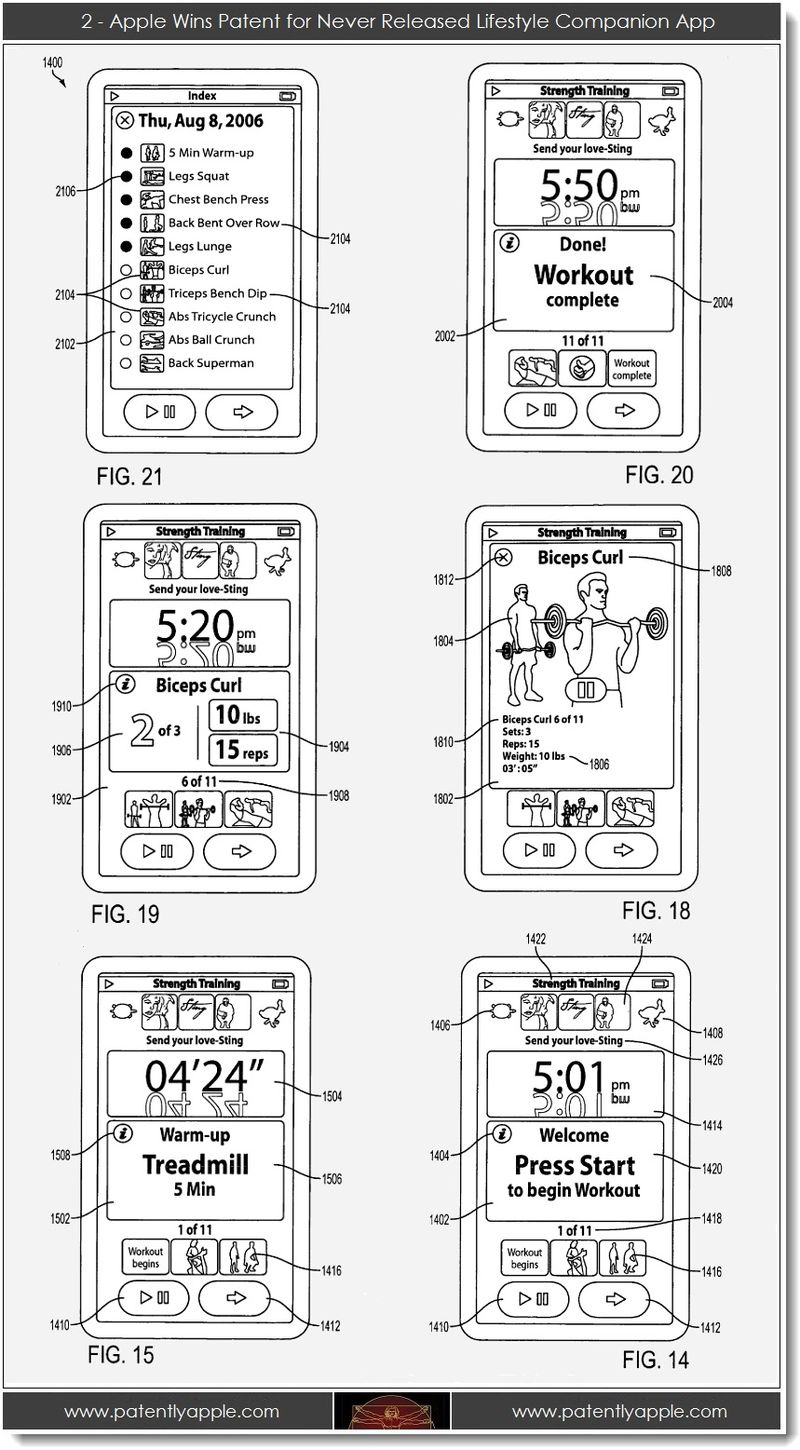 3 - 2 - Apple wins patent for never released lifestyle companion app