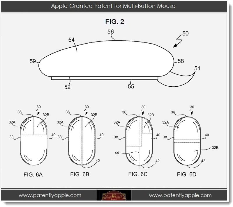 4. Apple Granted Patent for Multi-Button Mouse
