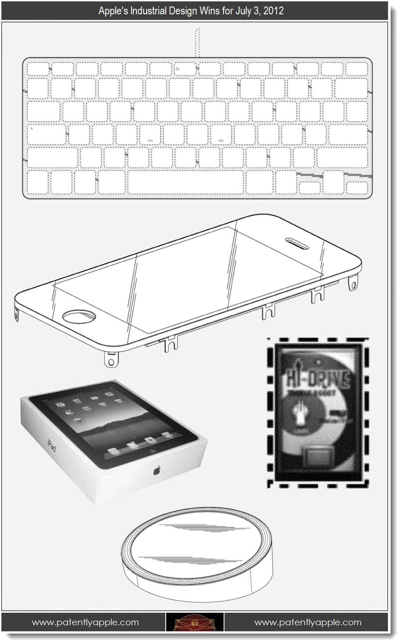 5. Apple's Industrial Design wins for July 3, 2012