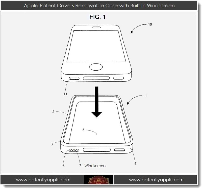 2. Apple Covers Removable Case with Built-In Windscreen