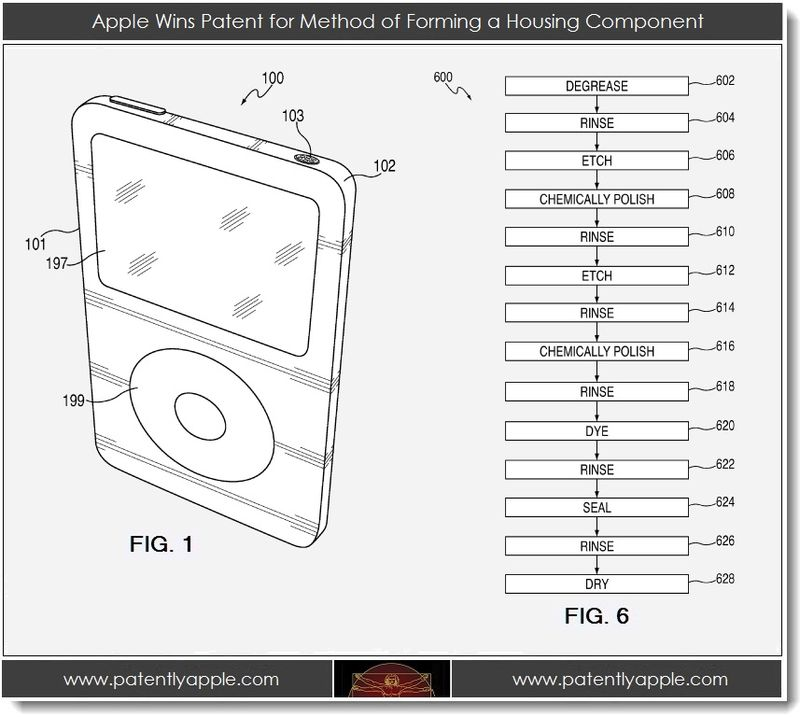 4. Apple wins patent for method of forming a housing component