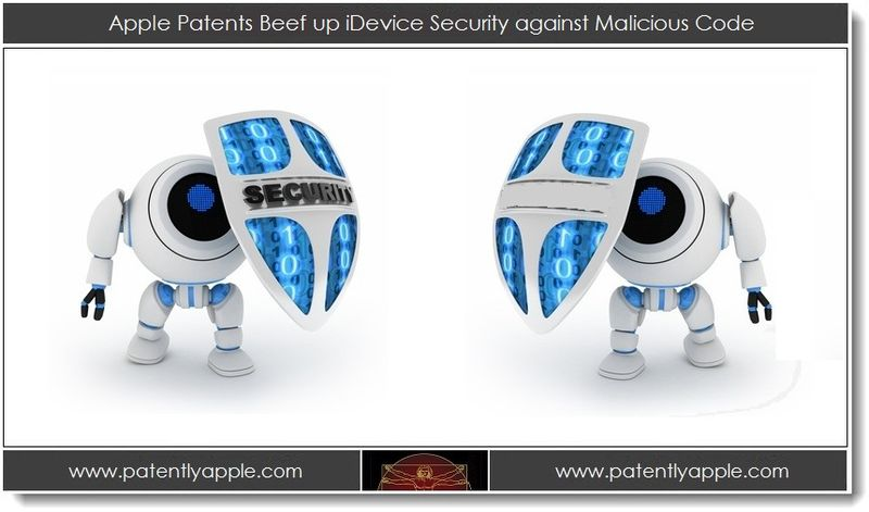 1. Apple Patents Beef up iDevice Security against Malicious Code