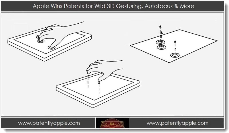 1. Apple Wins Patents for Wild 3D Gesturing, Autofocus & More