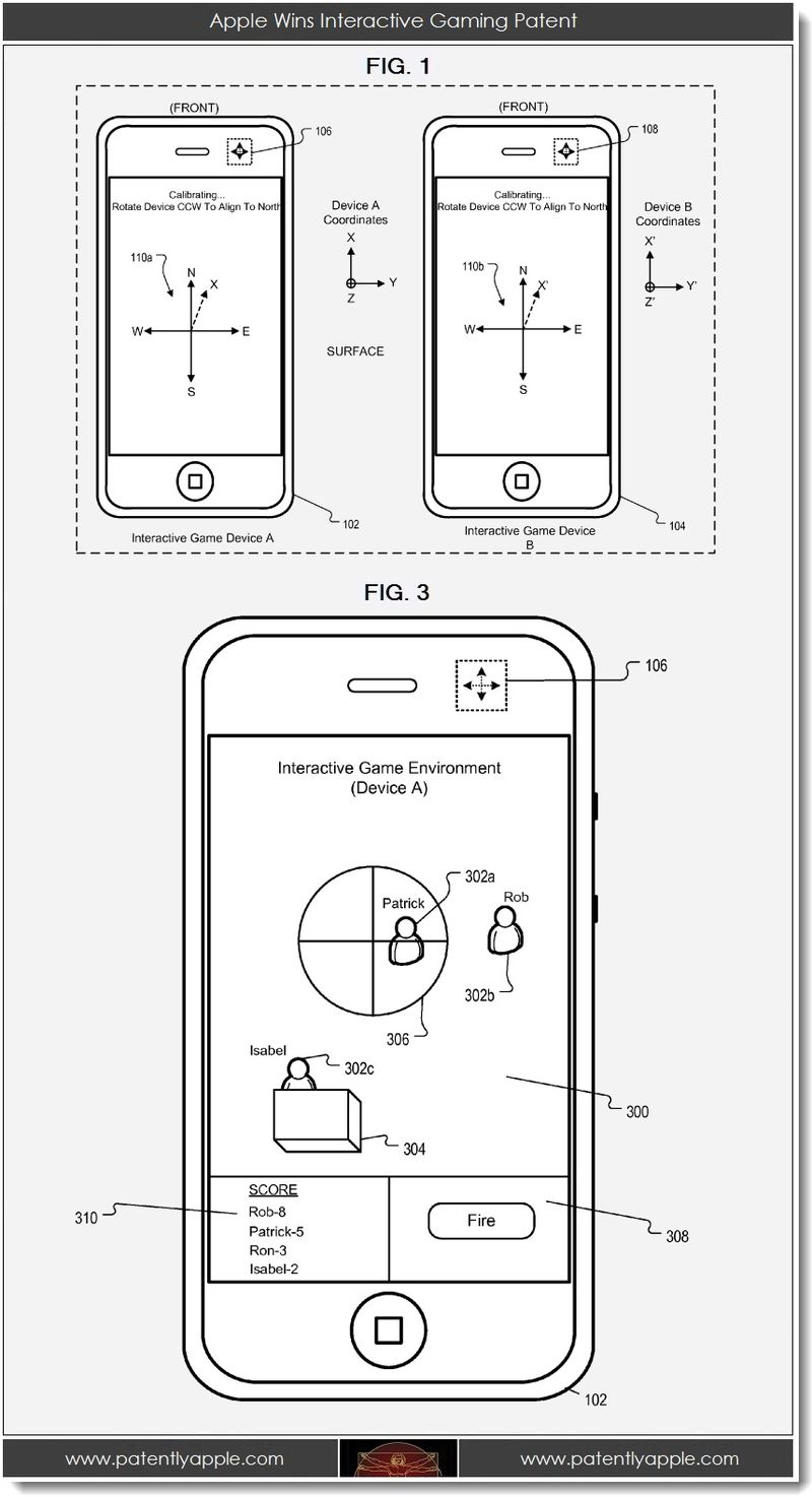 3. Apple Wins Interactive Gaming Patent