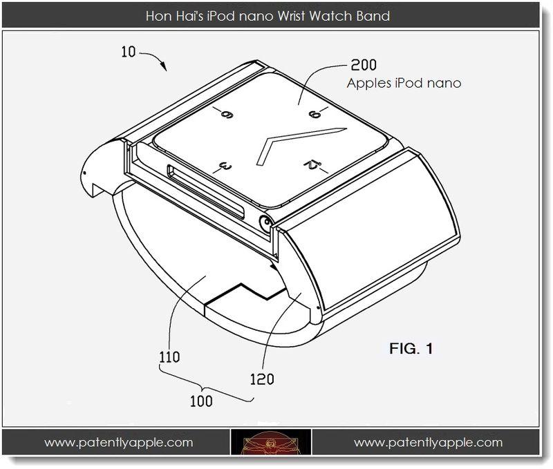 2 - Hon Hai's iPod nano wrist watch band - I