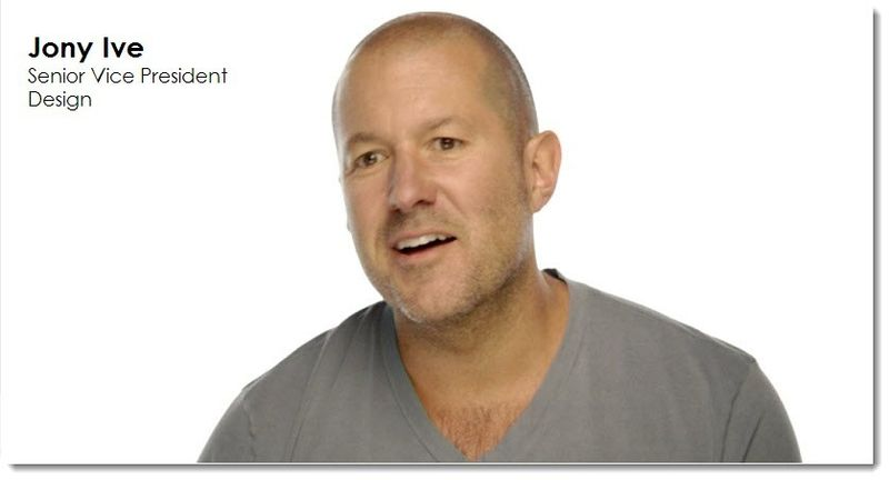27. Jony Ive VP Design