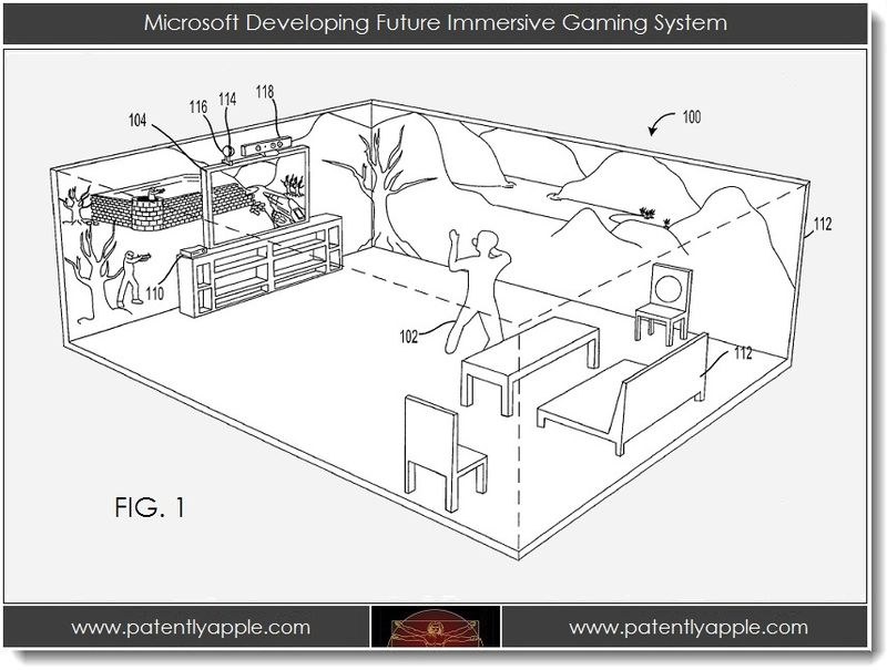 2A. Microsoft developing future immersive gaming experience