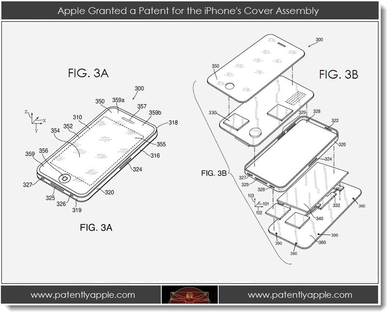 4. Apple granted a patent for the iPhone's cover assembly