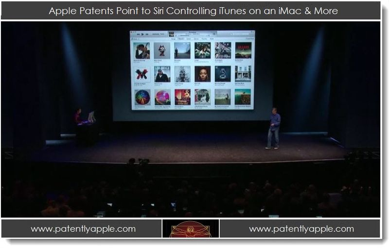 1. Apple Patent Points to Siri Controlling iTunes on an iMac & More