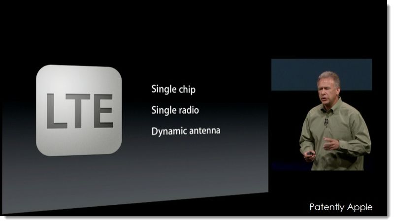 25. LTE single chip, single radio, dynamic antenna