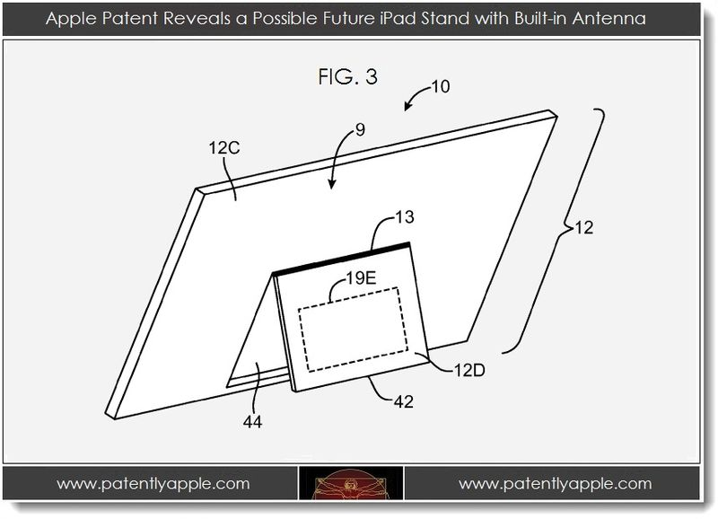 2. Apple Patent Reveals a Possible Future iPad with Built-In Antenna