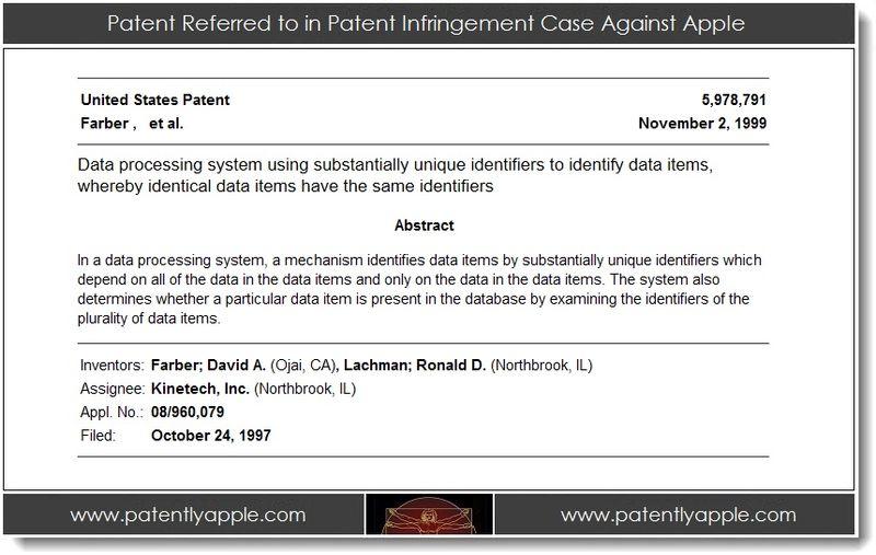 2. Patent 5,978,791 Kinetech