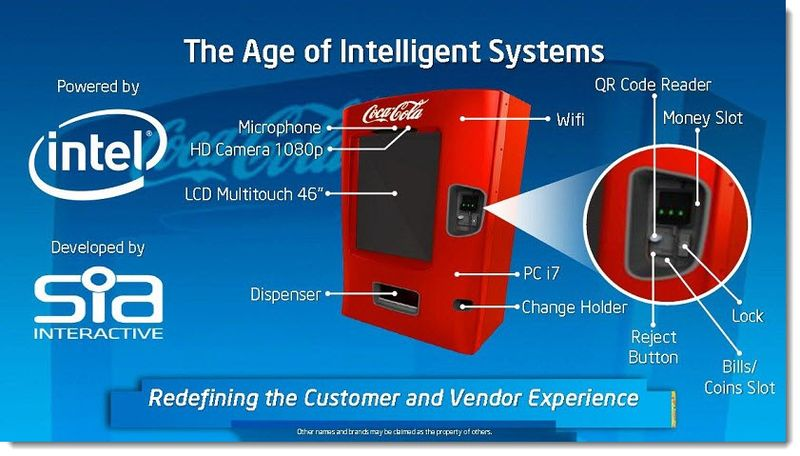 14. IDF Next Gen Vending Machine - Coke in South America now