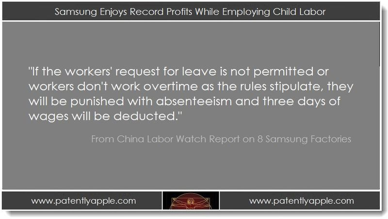 1. Samsung Enjoys Record Profits While Employing Child Labor