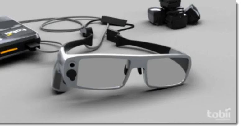 4. Sony mentions Tobii Eye Tracking Glasses as 1 example