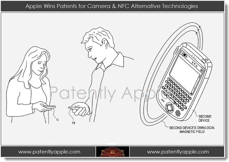 1. Apple Wins Patents for Camera & NFC Alternative Technologies