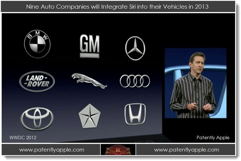 3. Siri hands free navigation services coming to 9 Auto Companies