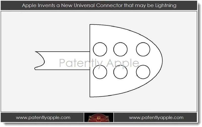 1. Apple Invents a new Universal Connector that may be Lightning