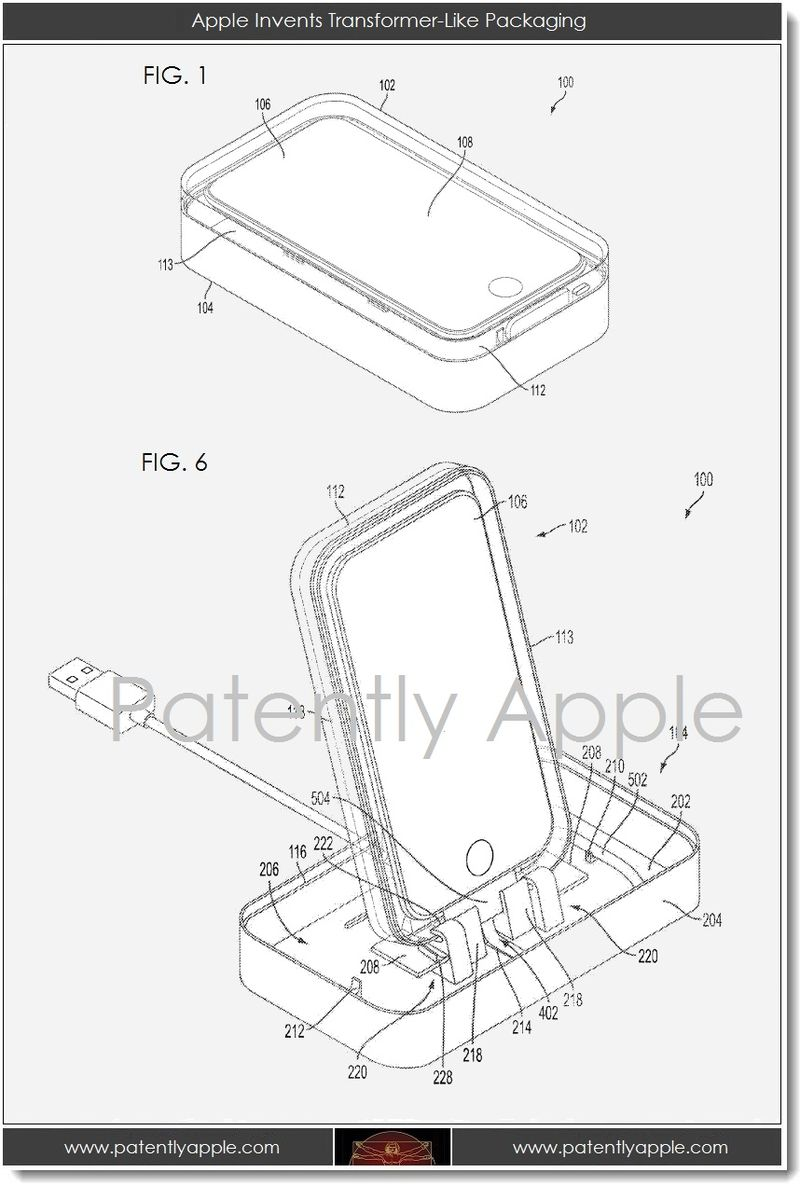 2. Apple Invents Transformer-Like Packaging