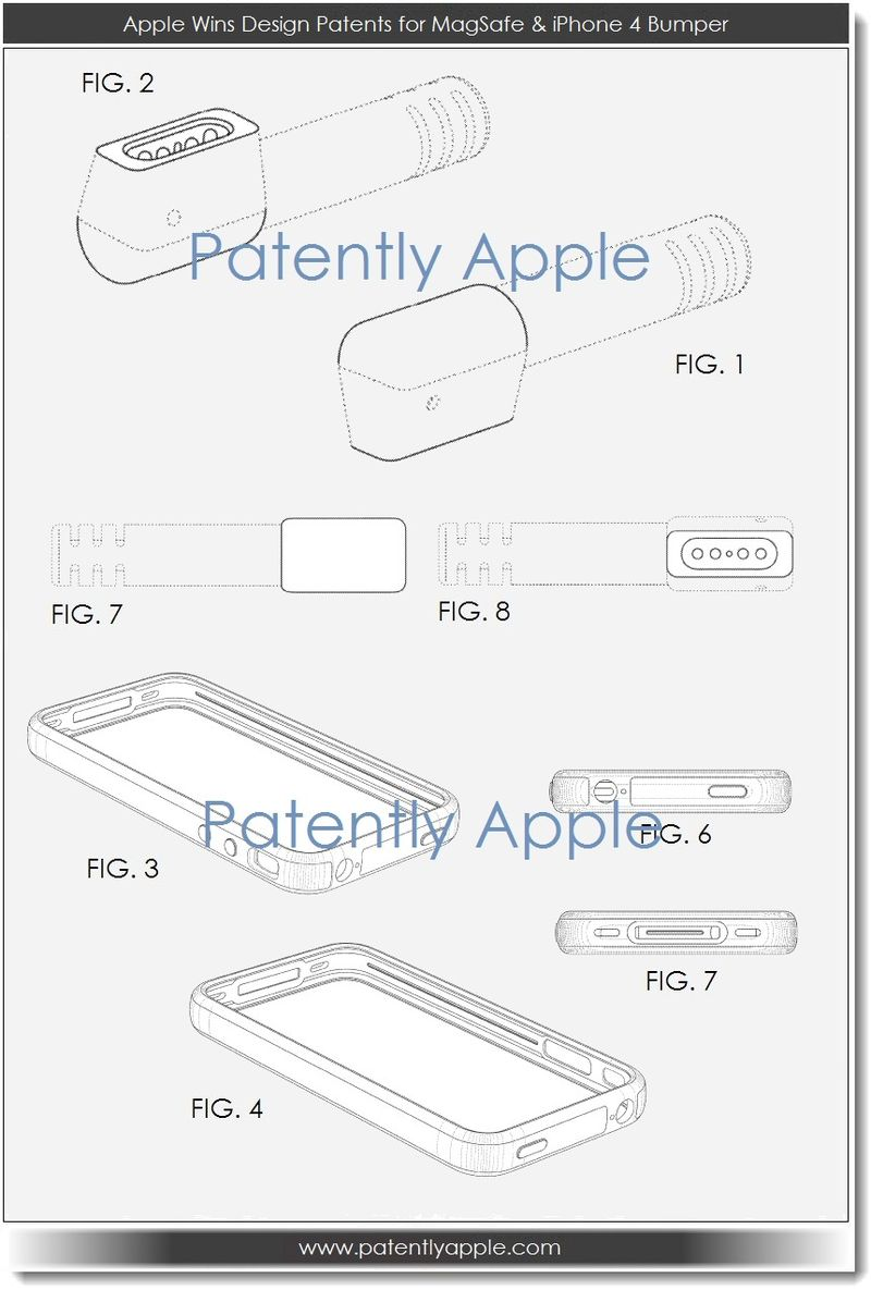 4.2 Apple wins design patents for magsafe & never released iPhone design