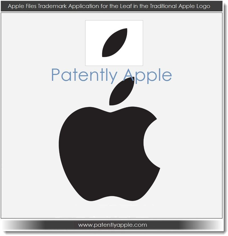 3 Apple Files Trademark Application for the Leaf n the Traditional Apple Logo