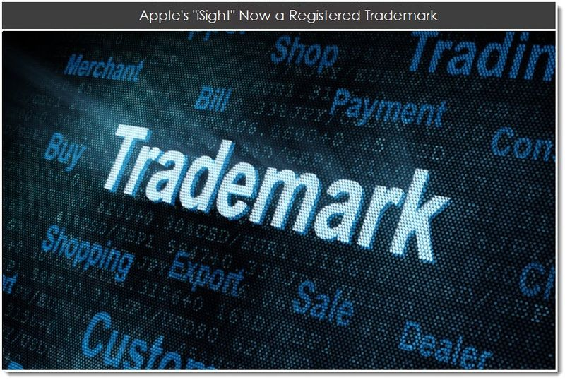1. Apple's iSight Now a Registered Trademark