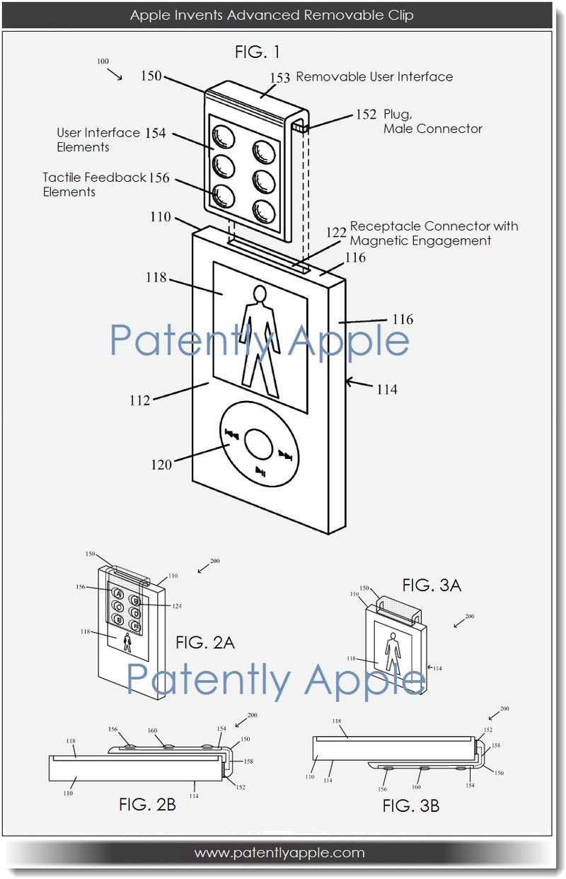2. Apple Invents Advanced Removable Clip
