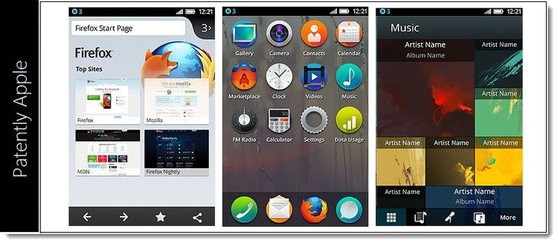 2. Screenshots of Firefox OS