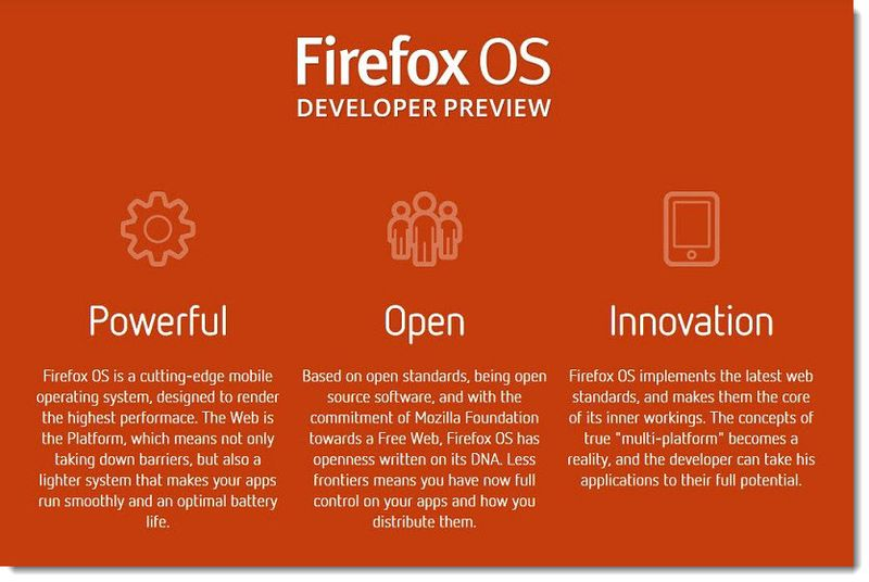 4. Firefox  Developer Preview