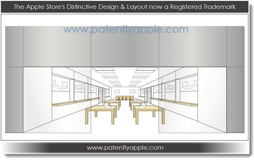 Patently apple apple store the apple stores distinctive design layout now a registered trademark gumiabroncs Gallery