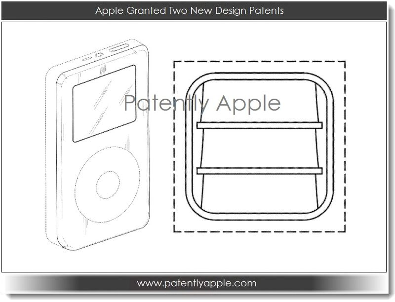 2. Apple granted two new design patents
