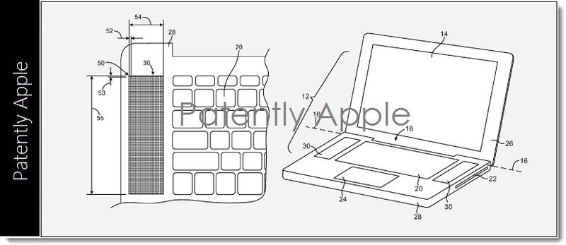4. MacBook Pro speaker grill granted patent