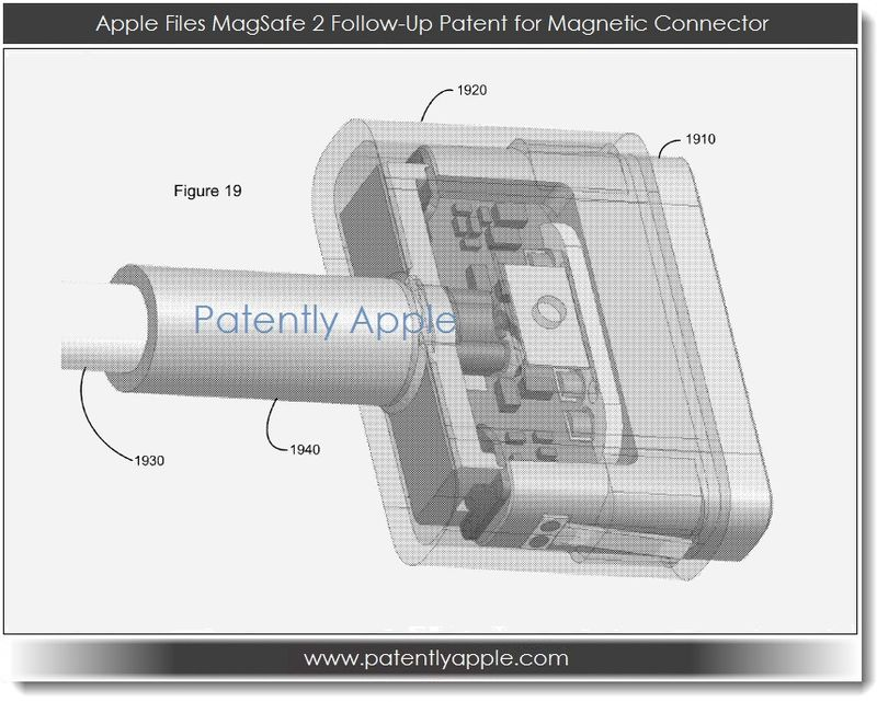 3AA. Apple, MagSafe 2 Related Patent Figure 19
