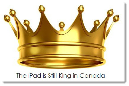 2. The iPad is still King in Canada