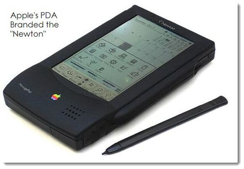 Apple's PDA branded the Newton
