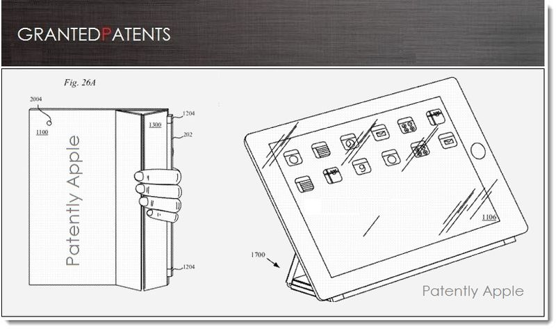 1. Cover , iPad Smart Cover Related Patents Figures