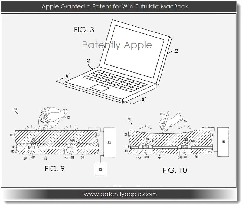 2 Apple Granted a Patent for a Wild Futuristic MacBook