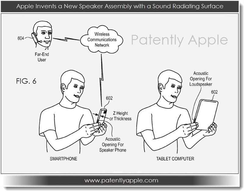 2. Apple invents speaker assembly with sound radiating surface