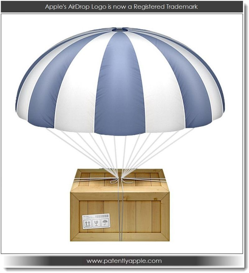 3. Apple's AirDrop Logo now a RTM 03.07.13