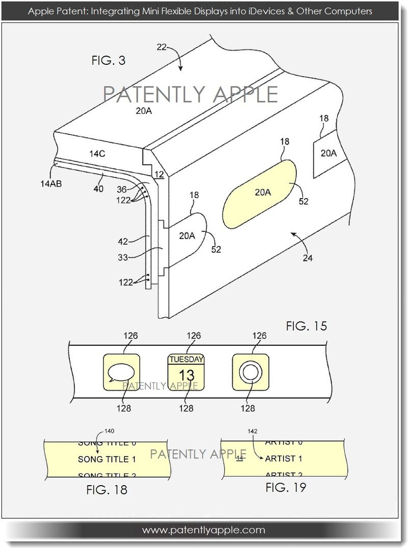 5. Apple patent figs 3, 15, 18, 19