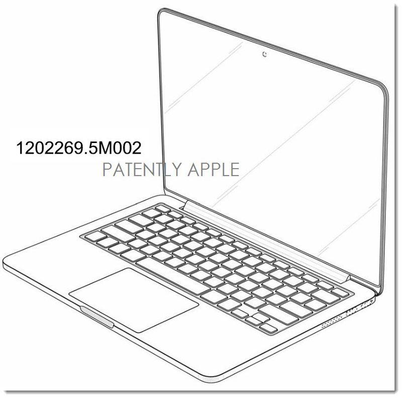 3. Apple Granted MacBook Pro Design Patent in China - 2
