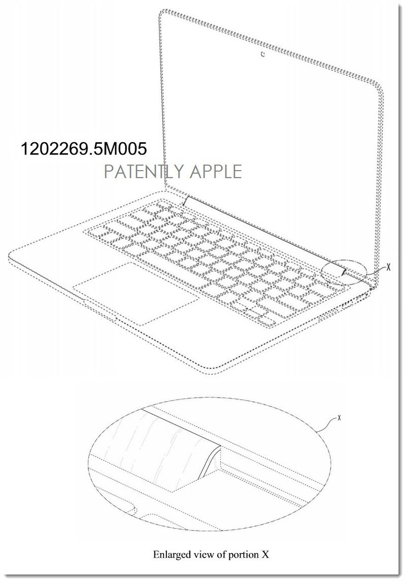 6. Apple Granted 6 Design Patents for MacBook Pro in China - 5