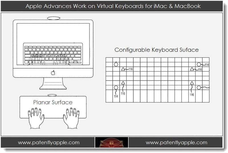 1. Apple advances work on virtual keyboards for iMac & MacBook