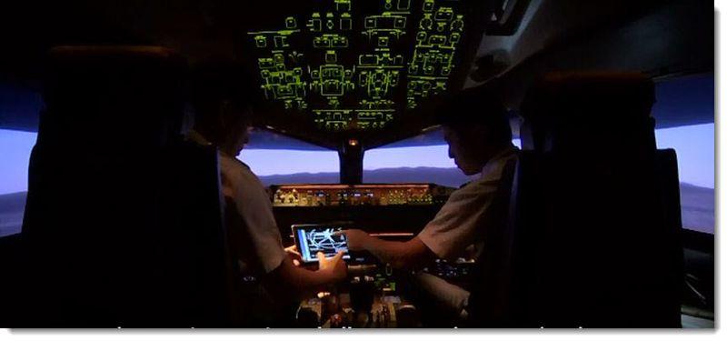5. EVA Airlines, Cockpit 2
