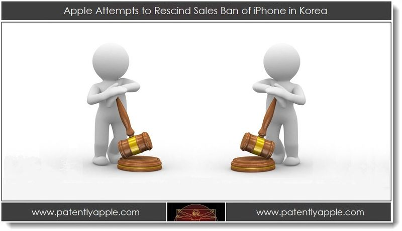 1. Apple attempts to rescind sales ban of iPhone in Korea