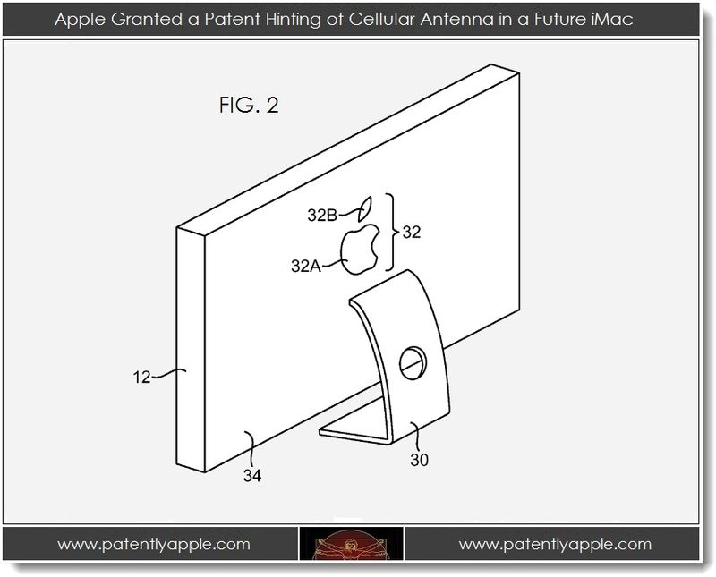 4. Cellular Antenna may be coming to a future iMac