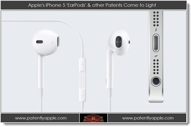 1. Apple's iPhone 5 EarPods & other Patents Come to Light