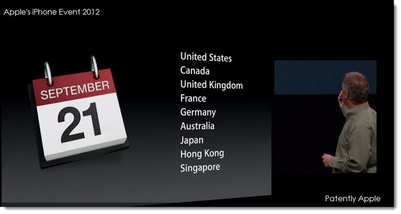 2 Initial iPhone 5 shipping dates